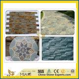 포장하거나 마루청을 깔거나 벽 또는 클래딩을%s 자연적인 돌 문화 슬레이트 (검정 또는 회색 또는 파랑 또는 빨갛거나 녹스는 또는 백색 또는 녹색 또는 노란 또는 분홍색 또는 베이지색 또는 브라운은 나누거나 갈거나 닦거나 타올랐다)
