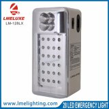 Luz Emergency recargable portable de 28 LED