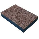 Panneau en aluminium de nid d'abeilles de sembler de marbre de granit pour la partition