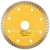 """4""""/105 мм Turbo сухой резки нож алмазов для фарфора плитки"""