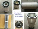 Cartuccia di filtro dell'aria per vari collettori di polveri