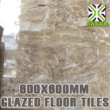 3D 60X60 volles Polierporzellan glasig-glänzende Fußboden-Fliese