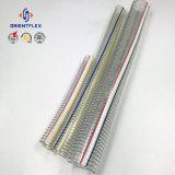 Mangueira transparente flexível de alta pressão da sução do fio de aço do PVC