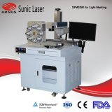 Mobile Fiber Laser Marking Engraving Machine 20W를 전환하십시오