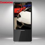 55 pulgadas Ls1000cms Totem Upstand Publicidad LCD de pantalla con el sistema de gestión de contenido