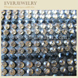 Acoplamiento atractivo del Rhinestone de 888 cristales de las mujeres calientes del arreglo