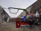 Shotcrete útil novo do reboque do estilo do produto da fábrica bomba concreta do mini