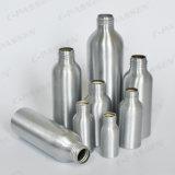 250ml em alumínio branco personalizadas vaso de cosméticos com Bomba de Pulverização
