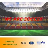 O futebol chinês e campo de futebol de relva sintética