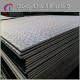 Placa Checkered de aço do ferro St37 laminado a alta temperatura