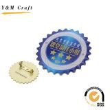 工場高品質の昇進のギフトのためのカスタム鉄の折りえりPin