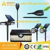 Lámpara al aire libre del jardín que fabrica LED solar vendedor caliente Lightling