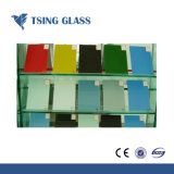 3mm-6mm verniz brilhante lacadas de volta para a cozinha de vidro pintado