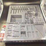Blister termoformado al vacío la formación de los productos de la bandeja de plástico transparente