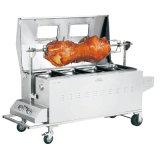상업적인 스테인리스 돼지 굽기 가래침 바베큐 기계