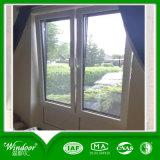 Окно одиночной форточки открытое внутреннее двойное изолируя UPVC