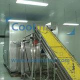 IQF fluidizado congelador para produtos hortícolas Frutas Grãos de Milho Doce Cenoura