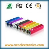 2600mAh cadeaux promotionnels Banques d'alimentation de batterie externe