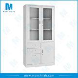 Visor de duas portas de correr em vidro cabinet