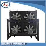 Radiador de aluminio modificado para requisitos particulares serie de la refrigeración por agua de A12V190-1320-X/(z) Td10d Jichai