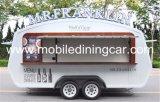 Aanhangwagen/de Kar Van uitstekende kwaliteit van het Voedsel van het nieuwe Product de Beweegbare