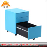 Шкафы стального металла постамента офисной мебели подвижного передвижные заполняя