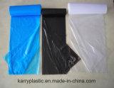 롤에 처분할 수 있는 HDPE/LDPE 플라스틱 쓰레기 또는 쓰레기 또는 졸작 패물 부대