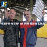 Cadena de producción de máquina de la bandeja del huevo del moldeado de la pulpa bandejas del precio que hacen la máquina