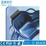 Baquet acrylique de STATION THERMALE de massage de tourbillon de personne du grand dos 5 (M-3327)