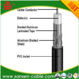 Коаксиальный кабель фабрики гарантированный качеством (RG6/U)