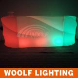 Ven aquí mostrador de barra de LED iluminado al aire libre