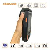 Tarjeta de tira magnética, lector de tarjetas del IC, sensor 508dpi, impresora térmica incorporada de Fingerprinter