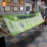 上海Tongjieの画像の生産ハングファブリック旗