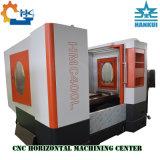 Centro di lavorazione orizzontale di CNC di memoria 3axis delle lamierine del disco dell'OEM Hmc40
