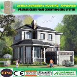 Do jogo pré-fabricado Prefab composto concreto da casa da parede da família HOME ajustadas