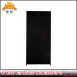 Gire a porta preta coloridas metálicas de aço Kids roupeiro