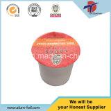 Folie van Lidding van het Aluminium van 99% de Zuivere voor de Capsule van de Koffie