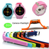 Los niños de la pantalla redonda reloj GPS Tracker con la cámara 3.0 D14