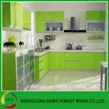 PVC膜Cabinets/PVCの真空の食器棚