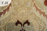 Tissu de sofa de jacquard de Chenille avec la fabrication d'instrument de précision