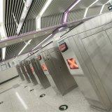 Cancello girevole del treppiedi del lettore di schede di RFID per il bus/metropolitana/stazione ferroviaria