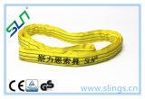 Imbracatura rotonda 2017 di colore giallo 3t*2m del poliestere con Ce/GS