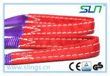 2018 1t*10mポリエステルウェビングの吊り鎖のSfの7:1のセリウムGS