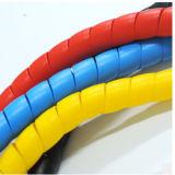 PVC, pp, chemise de protection de boyau de câble de PA de PE pour des machines