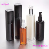 Sprayer를 가진 250ml Square Cosmetic Bottle