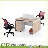Escritorio de madera del ordenador de los muebles del diseño del vector del ordenador de la oficina de los CF