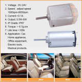 Car Home Appliance/Office-Maker를 위한 15V Driving Electric Mini Brush DC Motor