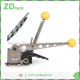 SMK-25 manual de Alça Aço Buckleless Combinação ferramenta máquina de embalagem para Metal Faixa de 25 milímetros