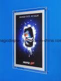 Scheda del segno illuminata cristallo del LED