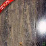 Superfície de grãos de madeira piso laminado HDF de Borracha